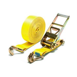 Стяжные ремни с натяжным устройством и крюками