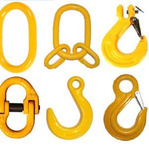 Комплектующие для производства цепных строп