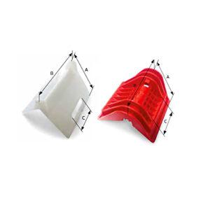 Угловые накладки для острых кромок фиксируемого груза