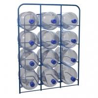 Стационарные стеллажи для хранения 19-ти литровых бутылей с водой